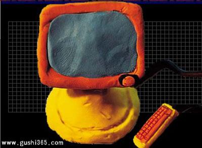 小猴发明了电脑