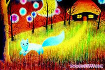 蓝狐狸的花香条