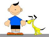 胖胖娃和瘦瘦狗