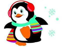 爱漂亮的小企鹅