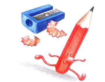爱画画的铅笔先生
