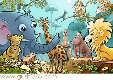 小猴子和大象的故事