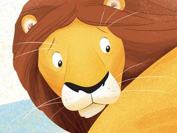 胆小的狮子