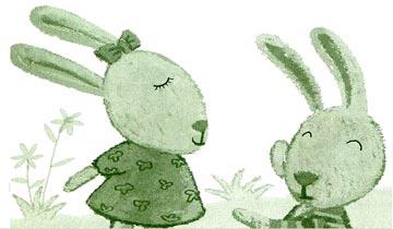 橡树下的兔子和梧桐树下的兔子