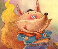 贪吃的小狐狸