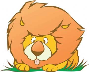 贪吃的小狮子