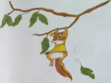小松鼠的训练课