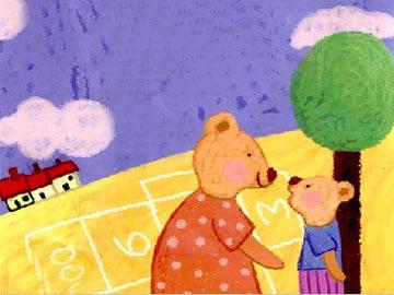 小熊想长高
