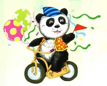 小熊猫找吃的