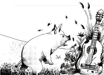亮仔猪的蓝色吉他